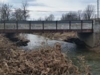 Before picture of County Bridge 15 on Salem Noble Road in Clark County Indiana.