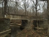 Before picture of Plymouth Road County Bridge 57 in Scott County Indiana.