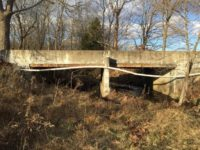 Before picture of Bridge 99 on Smith Road in Clark County Indiana